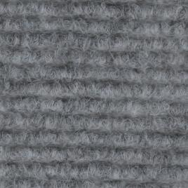 Ribbed Lining Carpet - Silver Grey
