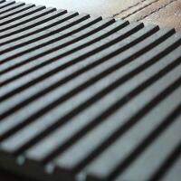 Rubber Matting - Castle Fluted
