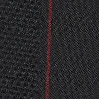 OEM Seating Cloth - BMW 1 Series - Stripe (Anthracite/Red)