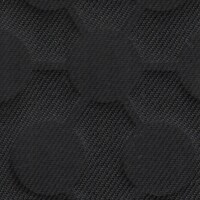 OEM Seating Cloth - Dacia Sandero - Embossed Circles (Black)