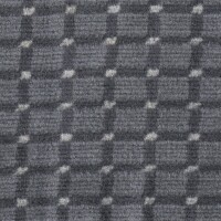 OEM Seating Cloth - Ford Escort/Orion - Velour Blocks (Grey)