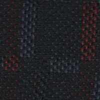 OEM Seating Cloth - Ford Fiesta/Courier - Zing (Black/Multi)