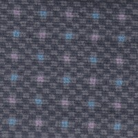 OEM Seating Cloth - Ford Scorpio - Velour Blocks (Grey/Blue/Rose)