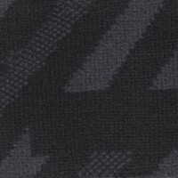 OEM Seating Cloth - Ford - Velour Stripe Motif (Black/Grey)
