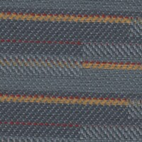 OEM Seating Cloth - Man Trucks - Horizontal Stripe (Grey/Yellow/Red)