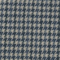 OEM Seating Cloth - Mercedes W110 - Pepita (Blue/Cream)