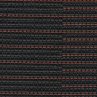 OEM Seating Cloth - Mini Cooper Countryman - Parallel Lines (Anthracite/Red)