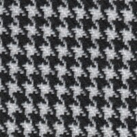 OEM Seating Cloth - Opel - Houndstooth (Black/White)