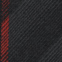 OEM Seating Cloth - Opel - Striped Twill (Anthracite/Red)