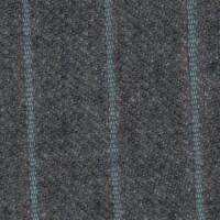 OEM Seating Cloth - Porsche 924 - Pinstripe Flannel (Grey/Turquoise)