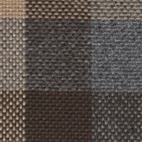 OEM Seating Cloth - Renault 4 - Flatwoven Blocks (Beige/Brown)