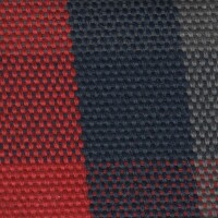 OEM Seating Cloth - Renault 4 - Flatwoven Blocks (Red/Blue/Grey)