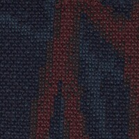 OEM Seating Cloth - Renault Clio - Knitted Motif (Blue/Red/Green)