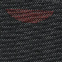 OEM Seating Cloth - Skoda Fabia - Semicircle (Black/Red)