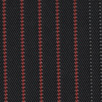 OEM Seating Cloth - Skoda Octavia/Karow/Ambition - Vertial Stripes (Anthracite/Red)
