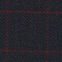 OEM Seating Cloth - Volkswagen Golf Cabrio - Dotty Square (Navy/Red)