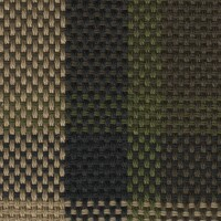 OEM Seating Cloth - Volkswagen Westfalia T2 - Tartan (Brown/Beige/Green)