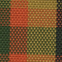 OEM Seating Cloth - Volkswagen Westfalia - Tartan (Orange/Green/Yellow)
