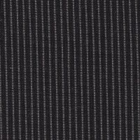 Car Seating Cloth - Black/Silver Pinstripe