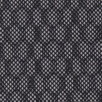 Car Seating Cloth - Black/White Double Hex