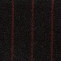 Porsche Seat Cloth - Pinstripe Velour (Black/Burgundy)