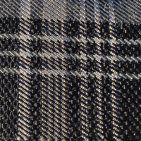 OEM Seat Cloth - Volkswagen Golf 6 - Tartan (Black/Grey)