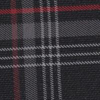 OEM Seat Cloth - Volkswagen Golf 7 - Tartan (Black/Grey/Red)