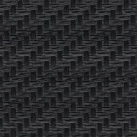 Metal Effect PVC - Carbon Fibre Black