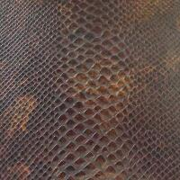 Snakeskin Vinyl - Brown
