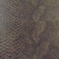Snakeskin Vinyl - Dark Brown