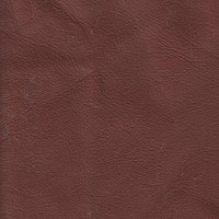 Clearance Leather Half Hide - Burnt Ochre