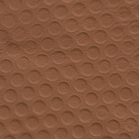 Clearance Leather Half Hide - Penny Embosssed Tan